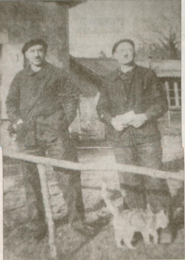 René Charton et Pierre Rigolet (Droits réservés, Musée Départemental de la Résistance et de la Déportation, Lorris)