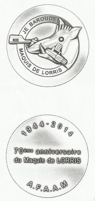 médailles afaam 2014