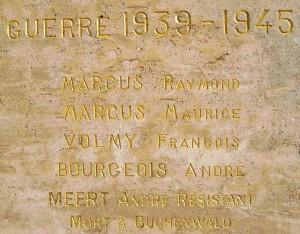 Plaque André Meert