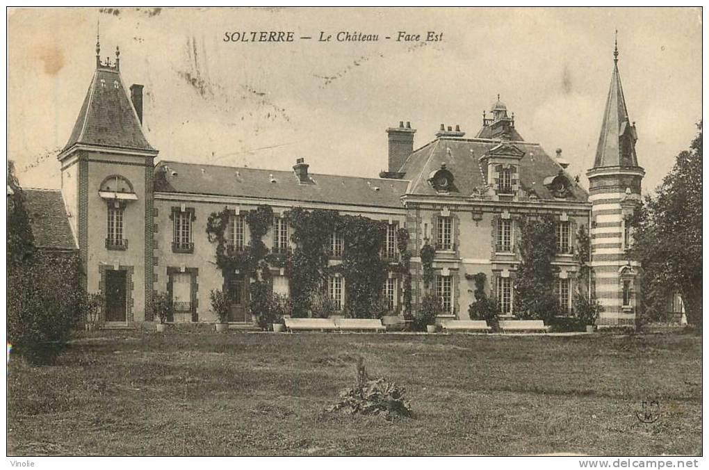 Le château en 1944 (Droits réservés, Famille Vallot-Meert)
