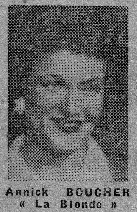 Annick Boucher (Droits réservés, Famille Vallot-Meert)