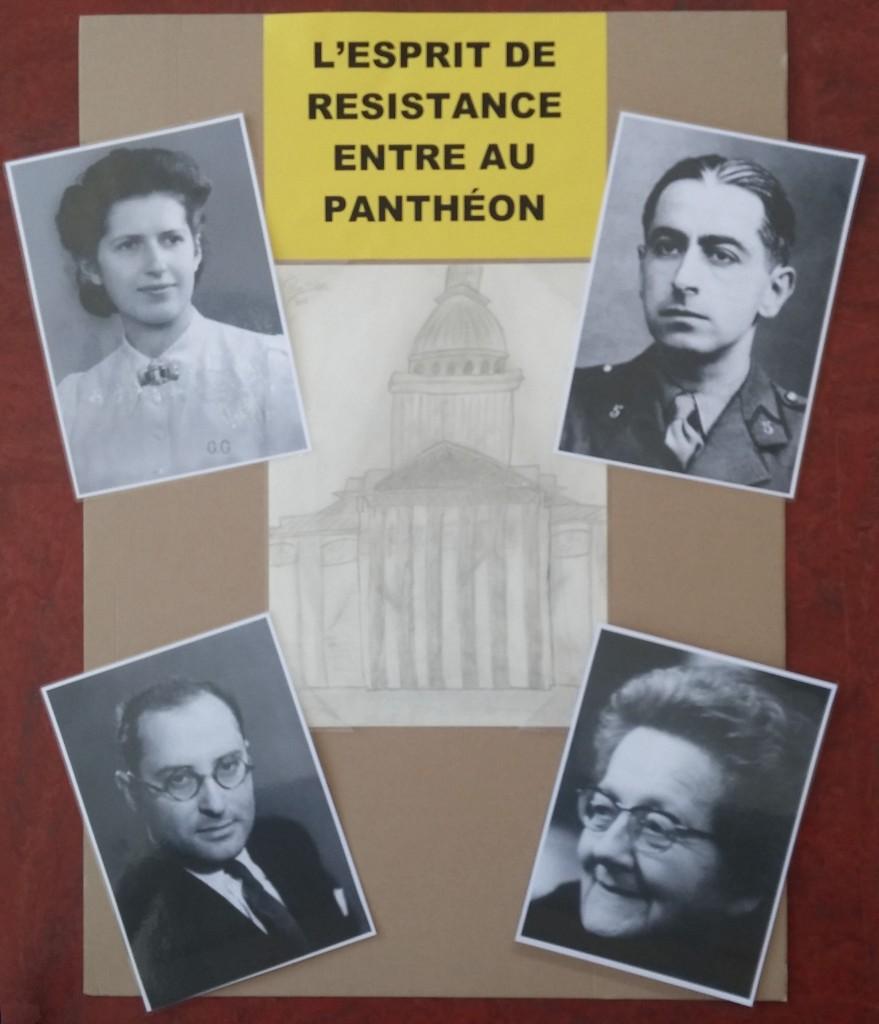 Panneau 4 Panthéonisés
