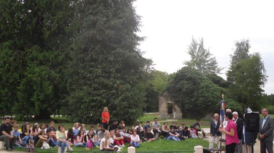 Rencontre avec les élèves du lycée St Charles (Droits réservés, AFAAM, 2015)